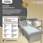Jual Mesin Air Bubble Vegetable Washer di Yogyakarta