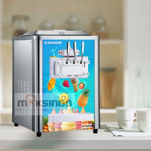 Mesin Es Krim (Soft Ice Cream) Lengkap 4