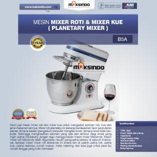 Jual Mesin Mixer Roti dan Kue Model Planetary di Yogyakarta