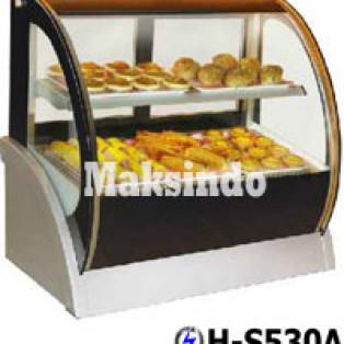 Jual Mesin Pastry Warmer (Hot Showcase) Penyaji Roti di Yogyakarta