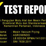 Jual Mesin Vacuum Frying Kapasitas 20-25 kg di Yogyakarta
