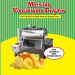 Jual Mesin Vacuum Frying Kapasitas 10 Kg di Yogyakarta
