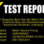 Jual Mesin Vacuum Frying Kapasitas 5 kg di Yogyakarta