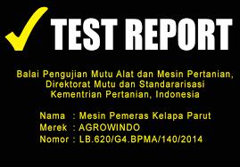 test-report-maksindomedan pemeras santan maksindoyogya
