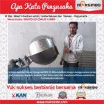 Jual Mesin Pengaduk Bumbu (Hexagonal) di Yogyakarta