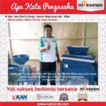 Jual Mesin Mixer Pakan Ternak (model horizontal mixer / Ribbon Mixer) di Yogyakarta