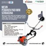 Jual Mesin Pemanen Padi Mini Serbaguna di Yogyakarta