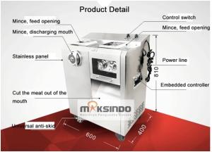 Mesin Pengiris dan Penggiling Daging Standing (Kombinasi) 4 maksindoyogya