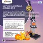 Jual Alat Pemeras Jeruk Manual Serbaguna  3 in 1 di Yogyakarta