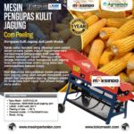Jual Mesin Pengupas Kulit Jagung (Corn Peeling) AGR-PJG06 di Yogyakarta