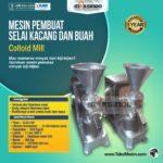 Jual Mesin Pembuat Selai Kacang dan Buah (Colloid Mill) di Yogyakarta