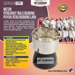 Jual Mesin Pencabut Bulu Burung Puyuh – Merpati di Yogyakarta