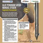 Jual Alat Penanam Sayur (Vegetable Transplanter) Stainless di Yogyakarta
