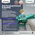 Jual Mesin Chopper Perajang Rumput Gajah & Sejenisnya AGR-CH200B di Yogyakarta