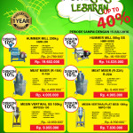 GEBYAR PROMO LEBARAN Up to 40 %