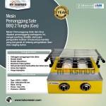 Jual Mesin Pemanggang Sate – BBQ 2 Tungku (Gas) di Yogyakarta