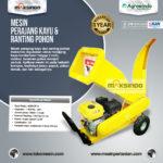 Jual Mesin Perajang Ranting dan Kayu Basah – AGR-CP15 di Yogyakarta