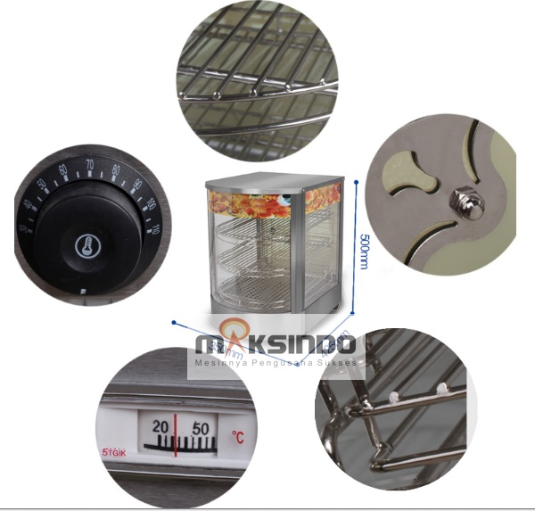 Mesin Warmer Kue Harga Hemat - MKS-P01 2
