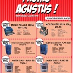 PROMO AGUSTUS UP TO 10%