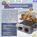 Jual Mesin Takoyaki Gas (56 Lubang) di Yogyakarta