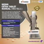 Jual Mesin Cetak Tablet Manual – MKS-TBL11 di Yogyakarta