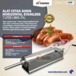 Jual Alat Cetak Sosis Horizontal Stainless 3 – 7 liter (MKS-3H) di Yogyakarta