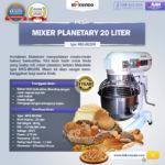 Jual Mesin Mixer Planetary 20 Liter NEW High Quality (MKS-BK20M) di Yogyakarta