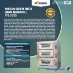 Jual Mesin Oven Roti Gas 1 Loyang (MKS-RS11) di Yogyakarta