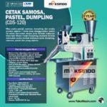 Jual Mesin Cetak Samosa, Pastel, Dumpling (CDS-120) di Yogyakarta