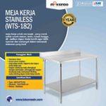Jual Meja Kerja Stainless (WTS-182) di Yogyakarta