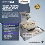 Jual Mesin Pembagi Adonan Bulat (MKS-BA60) di Yogyakarta