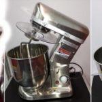 Jual Mesin Mixer Planetary 5 Liter Stainless (SSP-5) di Yogyakarta