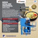 Jual Mesin Cetak Mie Industrial (MKS-800) di Yogyakarta