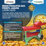 Jual Pengupas Kulit Jagung (Listrik)-JGU55 di Yogyakarta