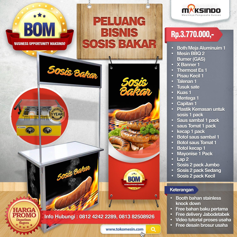 Paket Usaha Sosis Bakar Program Bom Toko Mesin Maksindo Yogyakarta