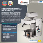 Jual Mesin Pemeras Minyak Biji-Bijian (J10) di Yogyakarta