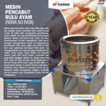 Jual Mesin Pencabut Bulu Unggas di Yogyakarta
