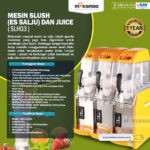 Jual Mesin Slush (Es Salju) dan Juice – SLH03 di Yogyakarta