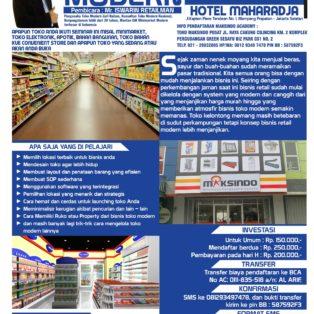 Seminar Cara Cerdas Membangun Toko Modern, 13 Mei 2017