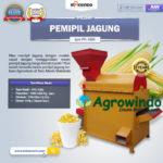 Jual Mesin Pemipil Jagung di Yogyakarta