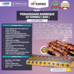 Jual Pemanggang BBQ 10 Tungku (Gas) di Yogyakarta