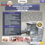 Jual Pemisah Tulang dan Daging Ayam PTA500 di Yogyakarta