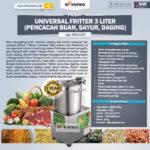 Jual Universal Fritter 3 Liter (MKS-UV3A) di Yogyakarta