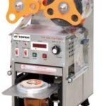 Jual Mesin Cup Sealer Full Otomatis Stainless (CPS-12A) di Yogyakarta