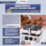 Jual Mesin Waffle Bentuk Kacang Walnut (WLN10) di Yogyakarta