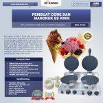 Jual Pembuat Cone dan Mangkuk Es Krim (CIC22) di Yogyakarta