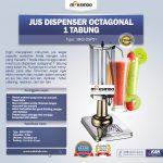 Jual Jus Dispenser Octagonal 1 Tabung  (DSP31) di Yogyakarta