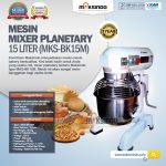 Jual Mixer Planetary 15 Liter New High Quality (MKS-BK15M) di Yogyakarta
