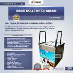 Jual Mesin Roll Fry Ice Cream RIC50 di Yogyakarta