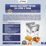 Jual Gas Deep Fryer 25 Liter 1 Tank (G75) di Yogyakarta